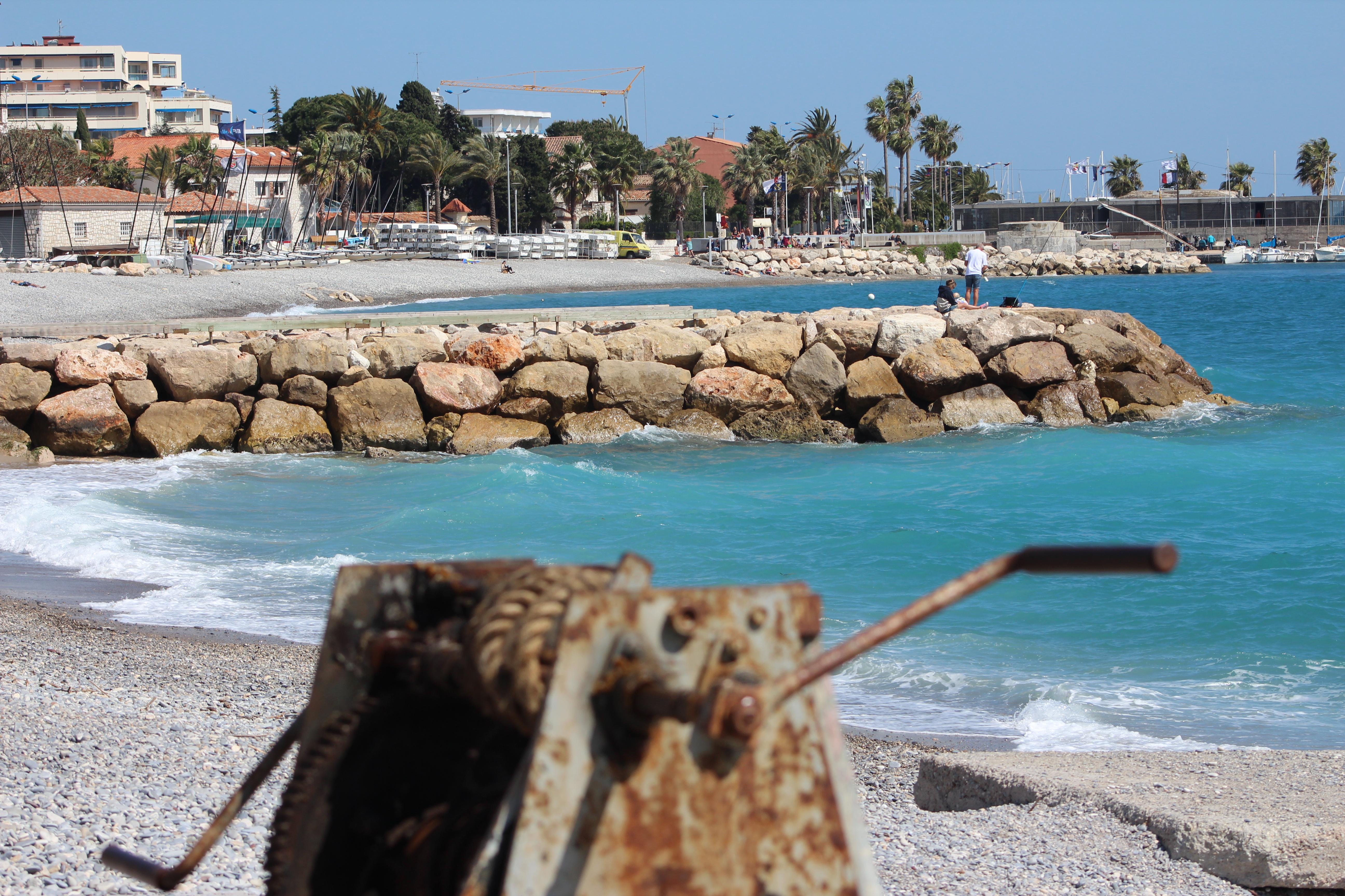 La plage cagnes sur mer h tel le chantilly for Garage de la plage cagnes sur mer
