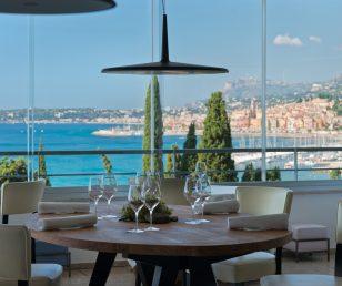 Restaurant gastronomique dans un cadre idyllique